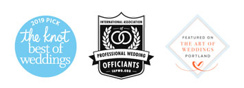 Best Of The Knot - International Association of Professional Wedding Officiants - Featured in The Art Of Weddings